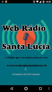 Web Rádio Santa Lúcia - náhled