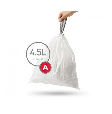 Avfallspåsar till Simplehuman 3 x pack med 30 påsar(90-påsar)  TYP A
