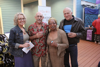 Photo: Supporters with Betty Shirley - Photo courtesy of Peter Nakhid