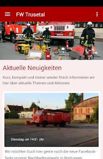 Feuerwehr Trusetal - náhled