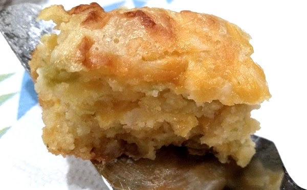 ~ Savory Green Chile, Onion Cheese Squares ~ Recipe