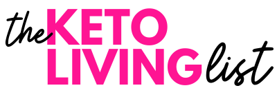 logo for the keto living list