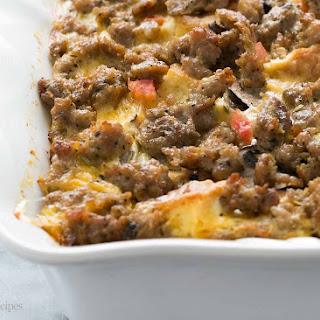 Sausage Breakfast Casserole.