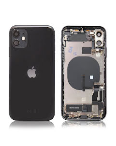 iPhone 11 Housing with small parts Original Pulled Space Gray