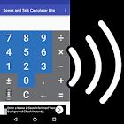 Speak n Talk Calculator Lite icon