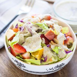 Garden Fresh Salad with Poppy Seed Dressing