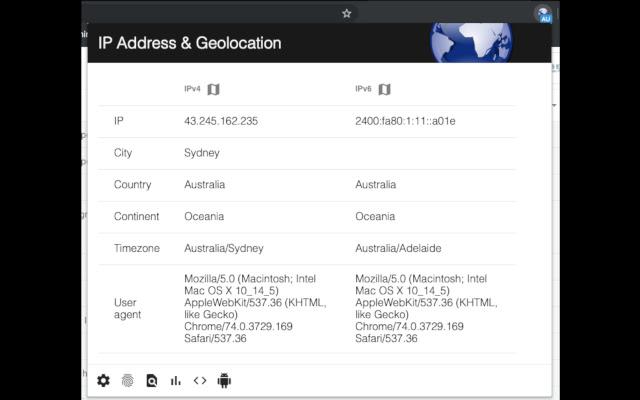 IP Address & Geolocation