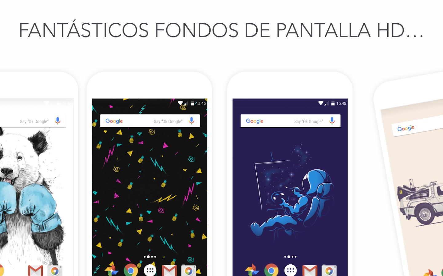 Walli fondos de pantalla hd aplicaciones android en for Aplicaciones de fondos de pantalla
