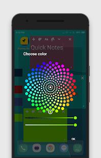Colorful Floating Sticky Notes - No Ads - náhled