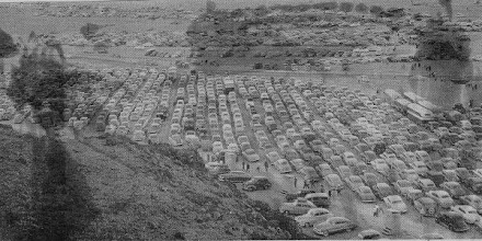 Photo: This photo shows the cars parked at Desolation Canyon.