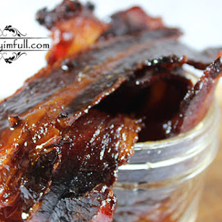 Whiskey Candied Bacon.