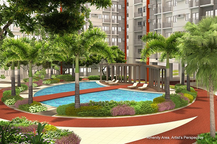 Bloom Residences, Sucat, Paranaque City pool