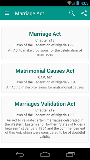 Marriage Matrimonial Acts