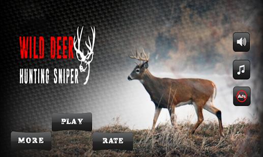 Wild Deer Hunting Sniper 2018 - náhled