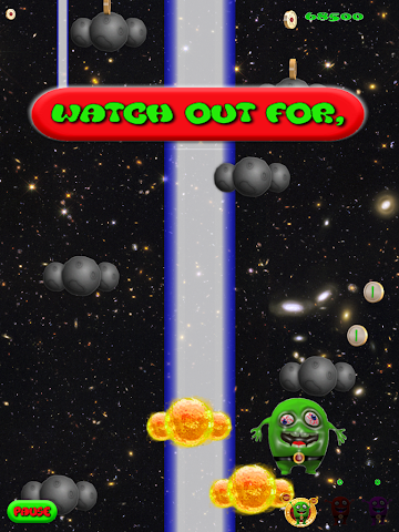android Alien Jump Free Screenshot 8