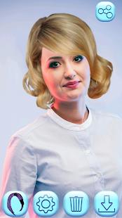 Aplikace Změna Barvy Vlasů - náhled