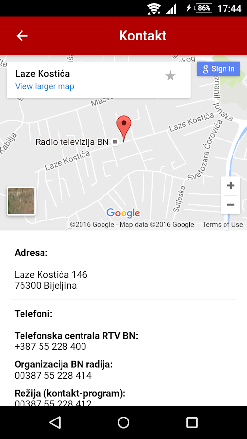 Radio BN- screenshot