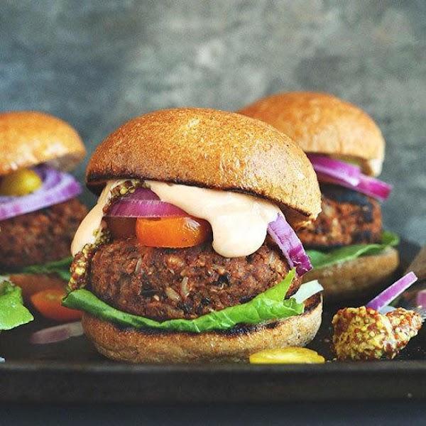 Meat Lovers Veggie Burger Recipe