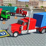 USA Truck Parking Mania Icon