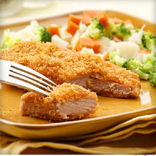 Golden Baked Pork Cutlets.