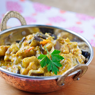 Eggplant & Chickpea Curry
