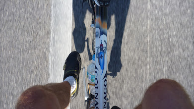 Photo: The view from my tri-bars