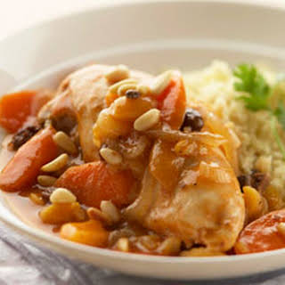 Moroccan Chicken Stew.