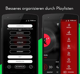 Crimson Musikplayer - MP3, Lyrics, Playlist Screenshot