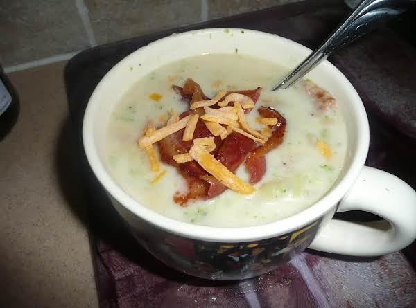 Broccoli-corn Creamy Potato Soup Recipe