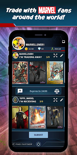 Marvel Collect! by Toppsu00ae Card Trader apktram screenshots 2