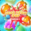 Juice Fruit Pop - Match 3 icon
