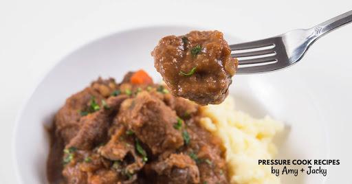 Instant Pot Irish Beef Stew & Mashed Potatoes (Pot-in-Pot)