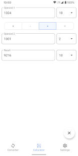 Calculator of number systems. Converter. Decision