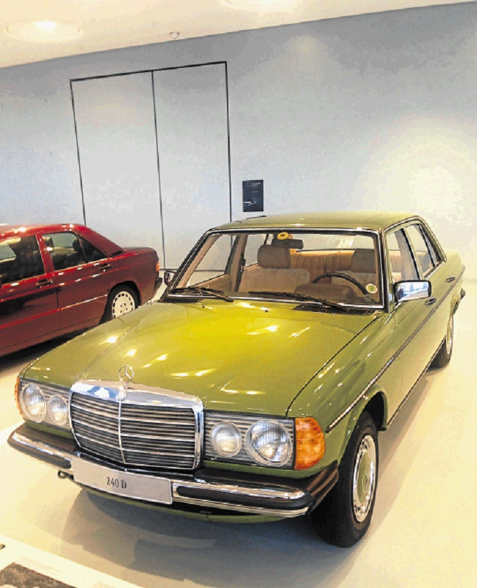 Mercedes-Benz W123. Picture: SUPPLIED