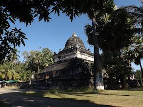 Photo: Die sogenannte Wassermelonen-Stupa im Wat Visounnarath, Luang Prabangs ältestem Tempel (1512)