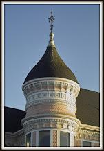 Photo: Arch. detail, Ft Bragg CA