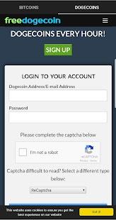 FreeBitco.in - earn money online - náhled
