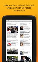Screenshot of Onet News - wiadomości