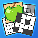 Puzzle Page - Crossword, Sudoku, Picross and more icon