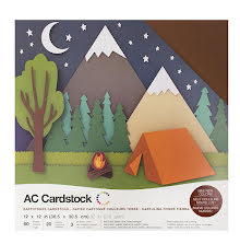 American Crafts Textured Cardstock Pack 12X12 60/Pkg - Earthtones