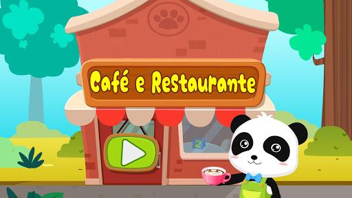 Verão do Bebê Panda: Cafeteria screenshot 7