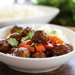 Turkey Meatballs in Black Bean Sauce