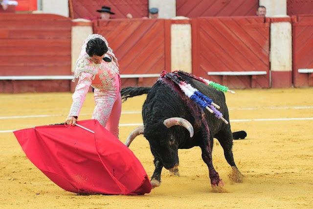 Ruiz Manuel en la Feria Taurina de Almería.