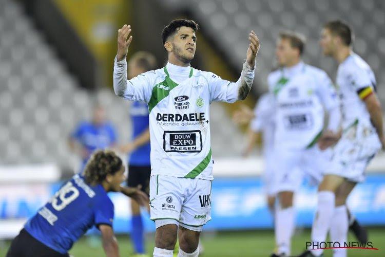 Un joueur de Lommel suspendu après un coup de coude non sanctionné contre l'Union Saint-Gilloise
