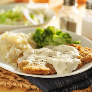 Chicken-Fried Steak with Cracked Pepper Gravy