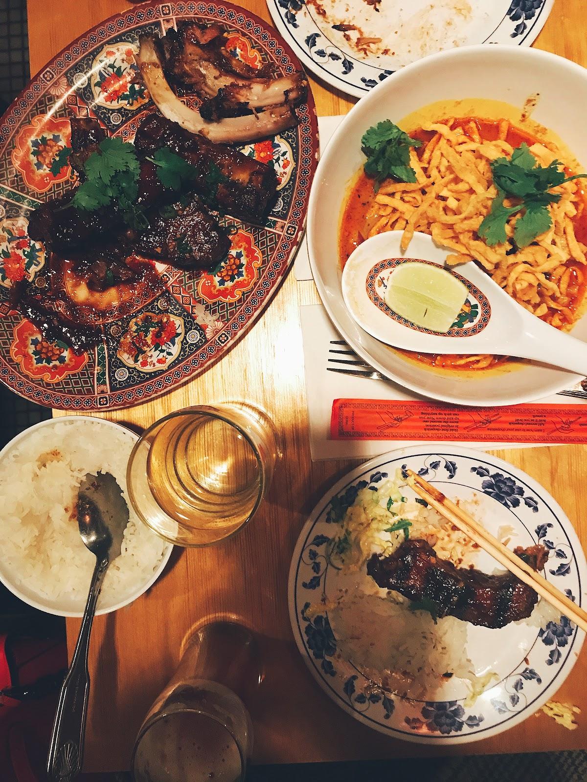 Pig and Khao Gourmana