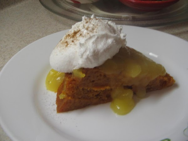 Blend in butter, lemon rind and lemon juice.Serve each slice of cake  with...