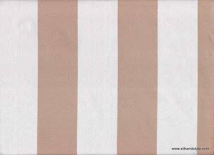 Photo: 14 Bangalore - Color 44 STP   100% Silk Satin Stripes