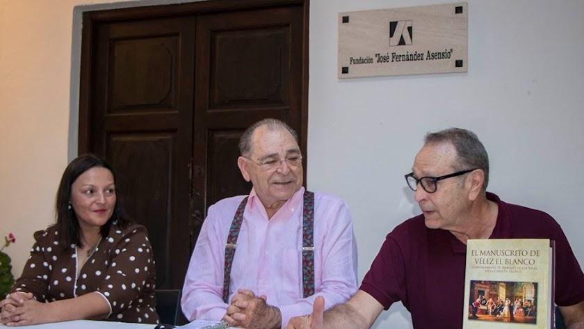 Presentación del libro en el Museo de Vélez Rubio (Foto: José García de Alarcón).