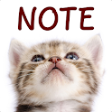 Cat Sticky Notes Notepad icon